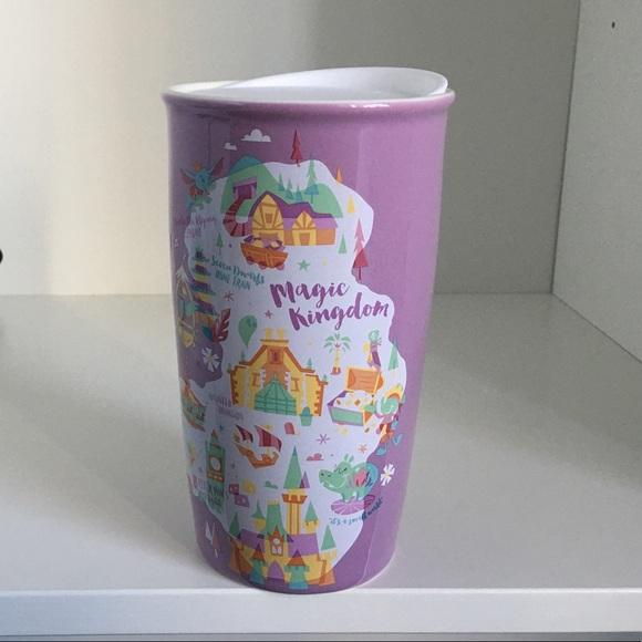 Disney Magic Kingdom Starbucks Tumbler